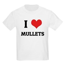 I Love Mullets Kids T-Shirt