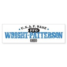 Wright Patterson Air Force Bumper Car Sticker