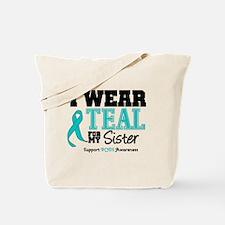 IWearTeal Sister Tote Bag