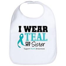 IWearTeal Sister Bib