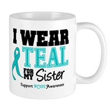 IWearTeal Sister Mug