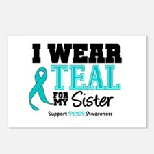 IWearTeal Sister Postcards (Package of 8)