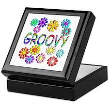 Groovy Keepsake Box
