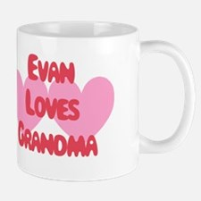 Evan Loves Grandma Mug