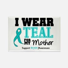 IWearTeal Mother Rectangle Magnet