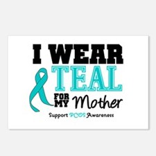 IWearTeal Mother Postcards (Package of 8)