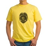 Support Our Police Yellow T-Shirt