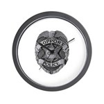 Support Our Police Wall Clock