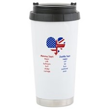 British American Translations Travel Mug