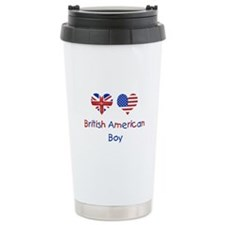 British American Boy Travel Mug