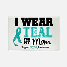 IWearTeal Mom Rectangle Magnet