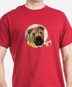 Shar-Pei Rose T-Shirt