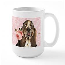 Basset Hound Rose Mug