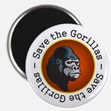 Save the Gorillas Magnet