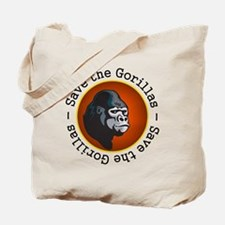 Save the Gorillas Tote Bag