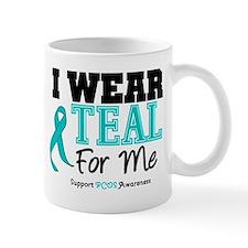 I Wear Teal For Me Mug