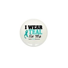 I Wear Teal For Me Mini Button (10 pack)