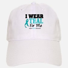 I Wear Teal For Me Baseball Baseball Cap