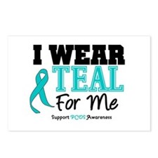 I Wear Teal For Me Postcards (Package of 8)