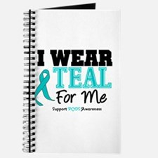 I Wear Teal For Me Journal