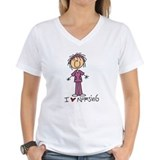 Nurse Womens V-Neck T-shirts