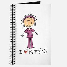 I Love Nursing Journal