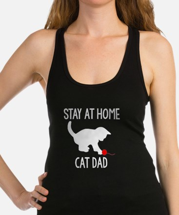 Cute Stay at home Racerback Tank Top