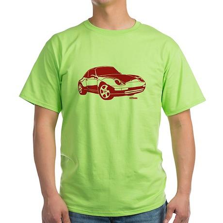 Porsche Red Green T-Shirt
