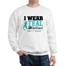 IWearTeal Girlfriend Sweatshirt