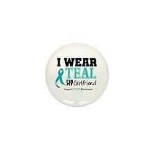 IWearTeal Girlfriend Mini Button (10 pack)