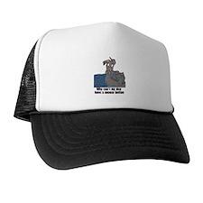 fN Mrl Snooze Button Trucker Hat