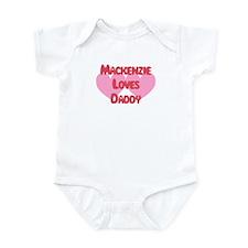 Mackenzie Loves Daddy Infant Bodysuit