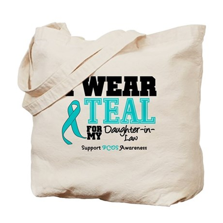 IWearTeal Daughter-in-Law Tote Bag