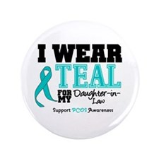 """IWearTeal Daughter-in-Law 3.5"""" Button"""