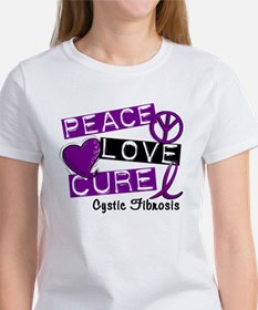 PEACE LOVE CURE Lupus (L1) Women's T-Shirt