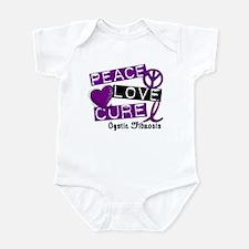 PEACE LOVE CURE Lupus (L1) Infant Bodysuit