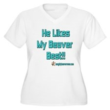 He Likes My Beaver Best! T-Shirt