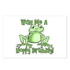 Cute Hoppy Birthday Postcards (Package of 8)