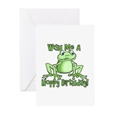 Cute Hoppy Birthday Greeting Card