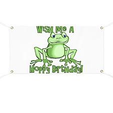 Cute Hoppy Birthday Banner