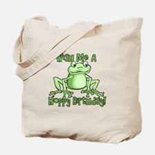 Cute Hoppy Birthday Tote Bag