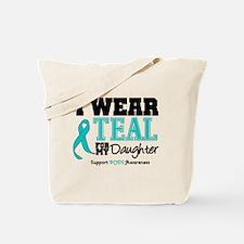 IWearTeal Daughter Tote Bag