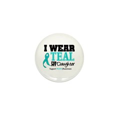IWearTeal Daughter Mini Button (10 pack)