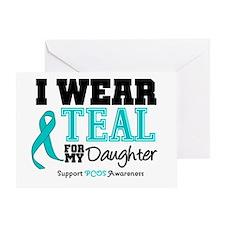 IWearTeal Daughter Greeting Card