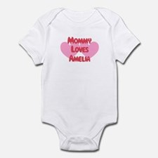 Mommy Loves Amelia Infant Bodysuit