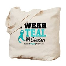 IWearTeal Cousin Tote Bag