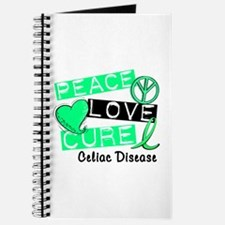 PEACE LOVE CURE Celiac Disease (L1) Journal