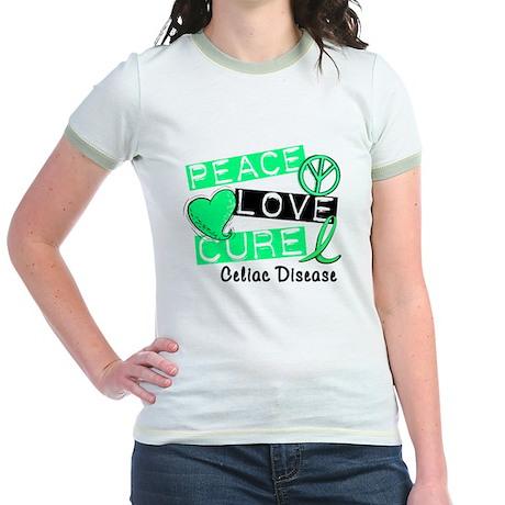 PEACE LOVE CURE Celiac Disease (L1) Jr. Ringer T-S