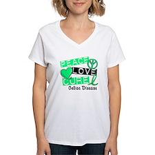 PEACE LOVE CURE Celiac Disease (L1) Shirt
