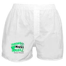 PEACE LOVE CURE Celiac Disease (L1) Boxer Shorts
